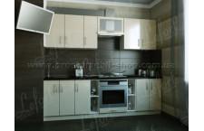 Кухня Делис 260 см МДФ ваниль