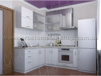 Кухня Делис 120 х 140 см. МДФ