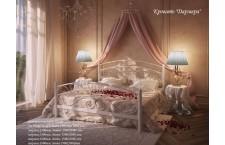 Металлическая кровать Дармера