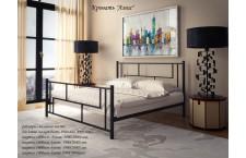 Металлическая кровать Амис