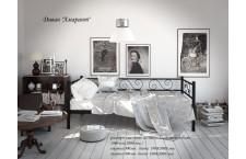 Металлическая кровать Амарант