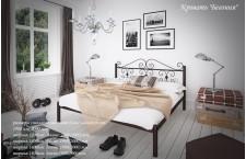 Металлическая кровать Бегония