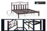 Металлическая кровать Габриэлла
