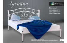 Металлическая кровать Лучиана